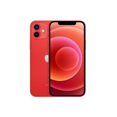 Imagem de iPhone 12 Apple 128GB iOS 5G Wi-Fi Tela 6.1'' Câmera 12MP - PRODUCT(RED)