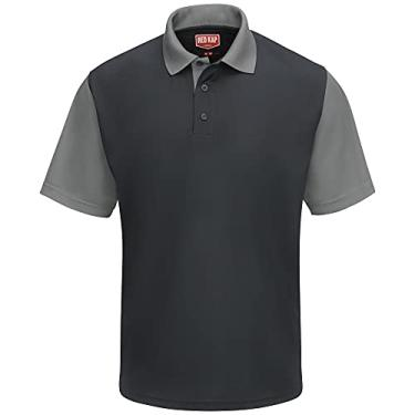 Imagem de Camisa polo Red Kap Performance SK56, Charcoal / Grey, L
