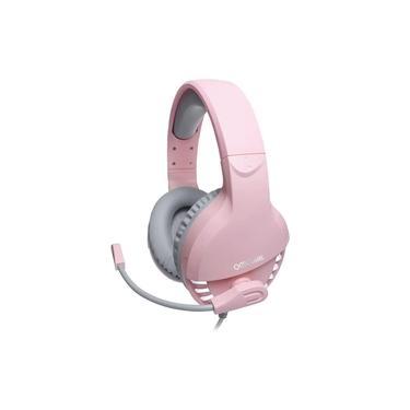 Imagem de Headset Gamer com Microfone Oex Fox HS414 Rosa