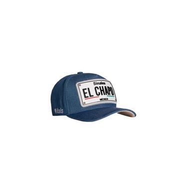 Boné Itals El Chapo Jeans Azul