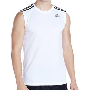 Regata D2m Plain Branca - Adidas