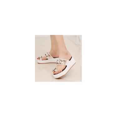 Sandálias femininas chinelos deslizantes sapatos com plataforma de verão sapatos de praia