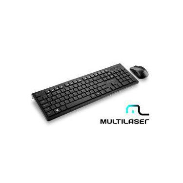Teclado E Mouse Sem Fio Multilaser TC212