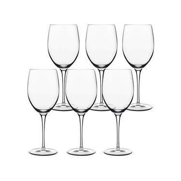 Conjunto de Taças para Vinho Tinto Luigi Bormioli Royale 520 ml – 6 Peças