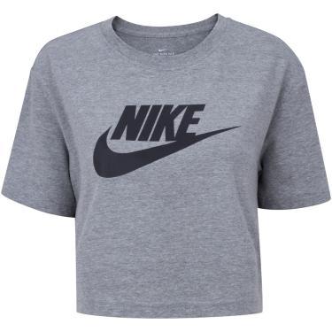Blusa Cropped Nike Tee Sportswear Essential - Feminina Nike Feminino