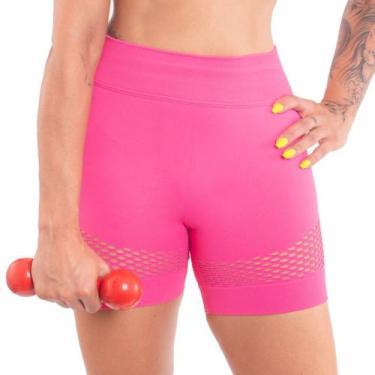 Imagem de Bermuda fitness academia ginástica feminina roupa Lupo