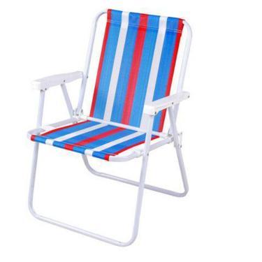 Cadeira de Praia Aço Alta Adulta MOR - Color