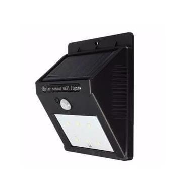 Luminaria De Parede Externa Solar C Sensor Arandela Ip65