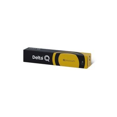Café Delta Q Qonvivium Intensidade 4 - Caixa 10 Cápsulas