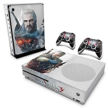 Skin Adesivo para Xbox One Slim - The Witcher 3#B