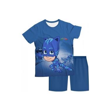 Pijama Infantil Menino Gato Pjmasks PJMC