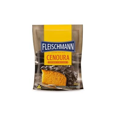 Mistura para Bolo Fleischmann Cenoura 390g