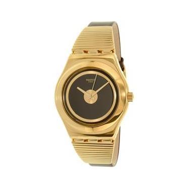 480fcfd9680 Relógio Feminino da Swatch (Irony Watch) YLG130 Gold