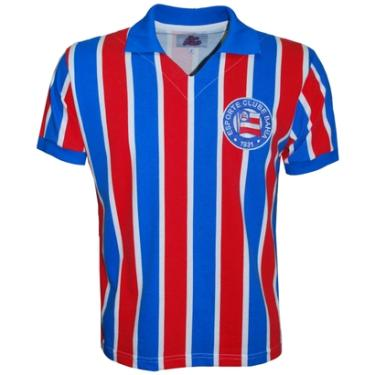 Camisa Liga Retrô Bahia 1959 Listrado - Masculino 53ed227b46381