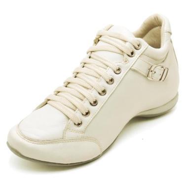 Bota Peccato Sapatos24horas 3/4 Confort Fivela Nude.  feminino