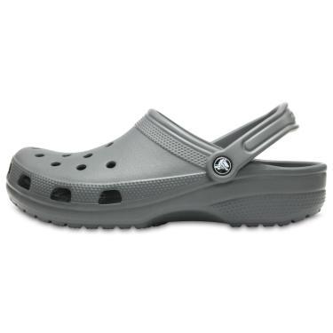 Sandália Crocs Classic Cinza  masculino