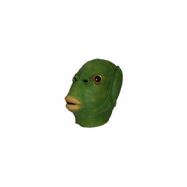 Imagem de Páscoa Verde Peixe Monstro Latex Durable Máscara Máscara Traje Engraçado Cosplay omy