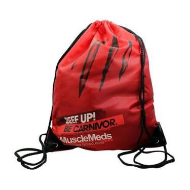 Bolsa Mochila Carnivor Vermelha - MuscleMeds