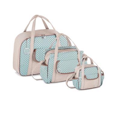 3f02e15a61 Kit Bolsas Maternidade Bicho Contorno Camping-Fazendo Arte-