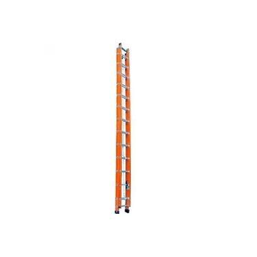 Imagem de Escada de fibra de vidro 10 / 16 degraus 3,00 x 4,80 m modelo extensível - ESC30480 - Rotterman