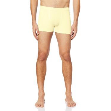Trifil Cueca Boxer Microfibra Masculino, P, Amarelo
