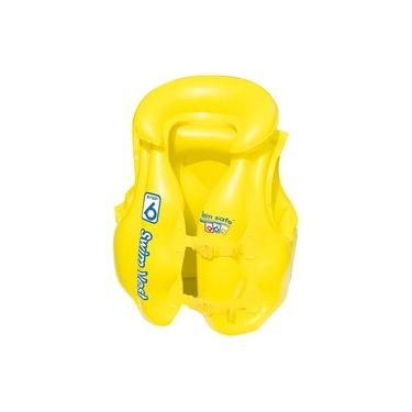 Imagem de Colete Salva Vidas Infantil Inflável Premium 30kg Mor 1814