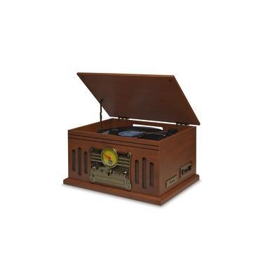 Vitrola Raveo Stadio Bluetooth LPs, K7s, CDs e MP3