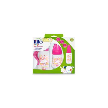 Imagem de Kit Mamadeiras para bebes Lillo Design Rosa