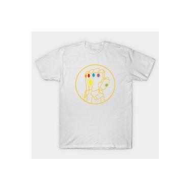 Camiseta Camisa Manopla Do Infinito Luva Do Thanos Masculino