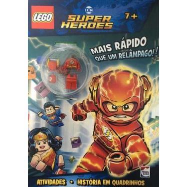 Imagem de Lego Dc Comics - Mais Rápido Que Um Relampago - Happy Books