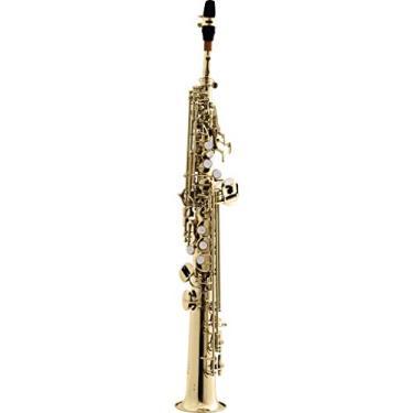 Imagem de Saxofone Soprano Reto Bb HST410L Laqueado HARMONICS