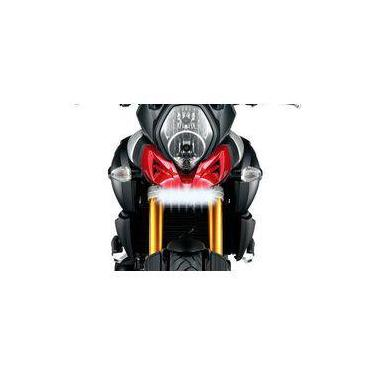 Farol De Milha Led 21w Moto Suzuki V-strom Dl1000 2014-2018