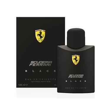 Perfume Scuderia Ferrari Black Eau de Toilete Masculino - 125ml