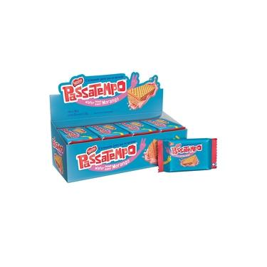 Biscoito Passatempo Wafer Morango 20g c/28 - Nestlé