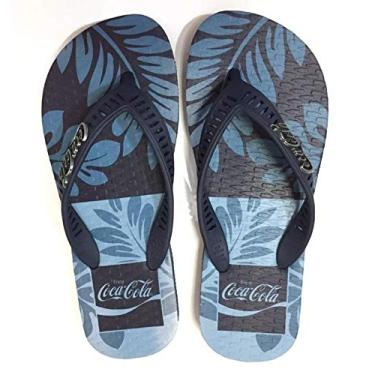 Chinelo Masculino Coca Cola Shoes Bush Marinho Marinho CC2915