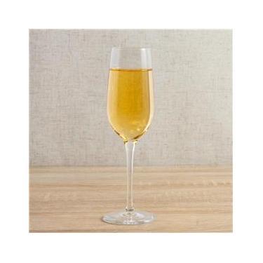Jogo de Taças de Champagne Spazio Bormioli de Vidro 4 Peças 190 ml