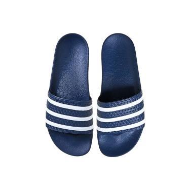 Sandália adidas Originals Adillete Azul ADIDAS ORIGINALS ADIDAS ORIGINALS ADIDAS ORIG... masculino