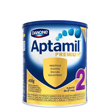 Fórmula Infantil Aptamil Premium 2 Danone Nutricia 400g