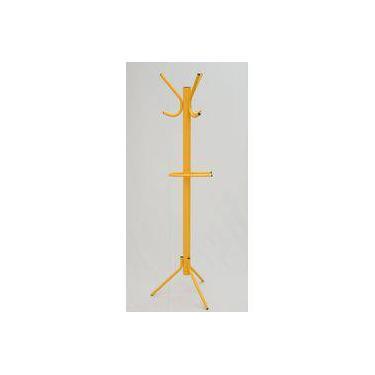 Cabideiro de chão Amarelo Villarte Móveis
