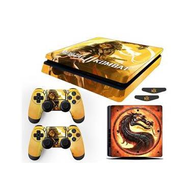 Skin Ps4 Slim Scorpion Mortal Kombat 11