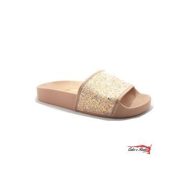 Chinelo Slide Molekinha Infanto Juvenil Feminino - 231110512781