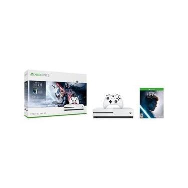 Console Xbox One S 1TB + Jogo Star Wars Jedi: Fallen Order Deluxe Edition (Download) + 1 Mês Xbox Live Gold