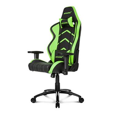 Cadeira Gamer Akracing Player Black Green (10039-3)
