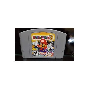 Mario Party 3 Nintendo 64 N64 Salvando