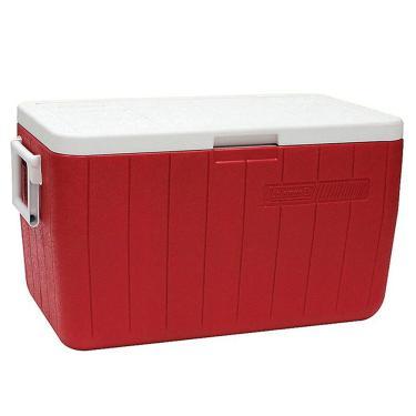 Caixa Térmica Vermelha 45.4 Litros - Coleman