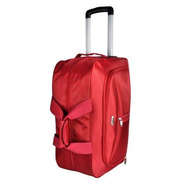 Bolsa Mala Viagem Pequena Antifurto c/Rodinhas Vermelho ys1027v