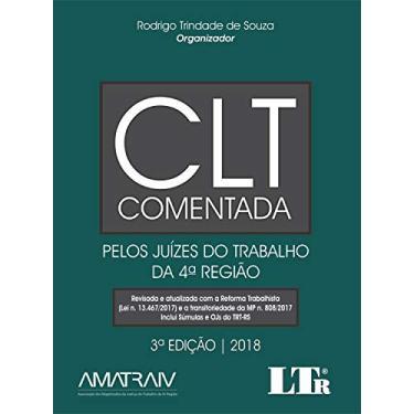 CLT Comentada - Rodrigo Trindade De Souza - 9788536197067