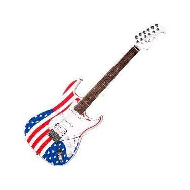 Imagem de Guitarra Eagle Sts002 2s 1h Strato Band.uk Band.ingl. Saldo