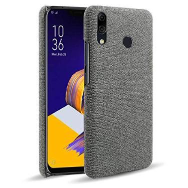 "Capa Grandcase para Asus Zenfone 5 ZE620KLCase, capa protetora ultrafina de tecido de feltro antiimpressão digital para Asus Zenfone 5 ZE620KL/5z ZS620KL 6,2"" – Cinza escuro"