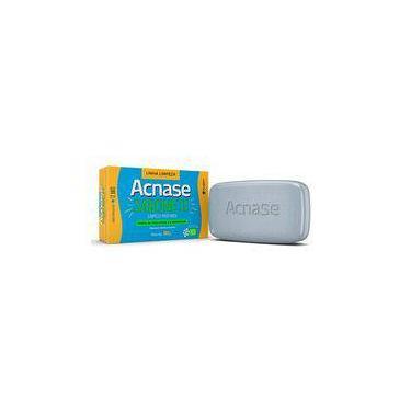 Acnase Clean Sabonete Limpeza Profunda Antiacne Facial 80g